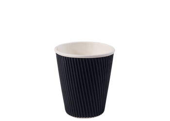 8oz-Ripple-Wall-Hot-Cup-Black
